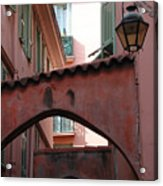 Streets Of Cannes 2 Acrylic Print