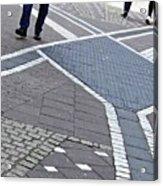 Streets Of Mainz 2 Acrylic Print