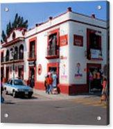 Streets Of Oaxaca Mexico 3 Acrylic Print