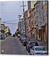 Streets Of San Francisco -2 Acrylic Print