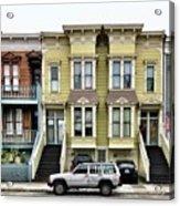 Streets Of San Francisco Acrylic Print