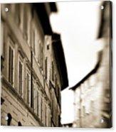 Streets Of Siena 2 Acrylic Print
