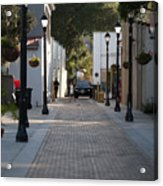 Streets Of St. Augustine Acrylic Print