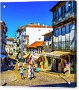 Streets Of Valenca Acrylic Print