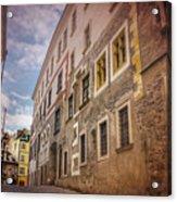 Streets Of Vienna Austria  Acrylic Print