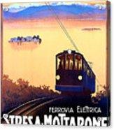 Stresa - Mottarone, Cable Car, Italy Acrylic Print