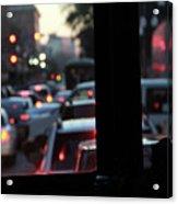 Stret Car Traffic Acrylic Print