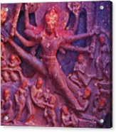 Striding Vishnu Acrylic Print