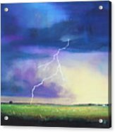 Strike From The Heavens Acrylic Print