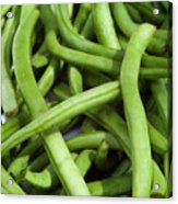 String Beans Acrylic Print