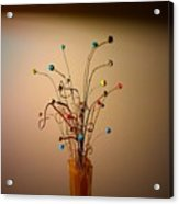 String Bouquet Acrylic Print
