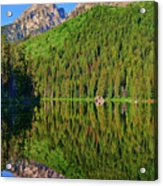 String Lake Morning Mirror Acrylic Print