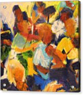 String Section Acrylic Print