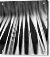 Strings In A Loom Acrylic Print