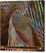 Stripe Amazement Bonding Acrylic Print