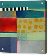 Stripe Assemblage 2 Acrylic Print