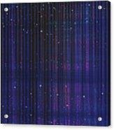 Stripes 865 Acrylic Print