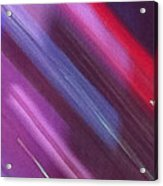 Stripes Abstract Acrylic Print