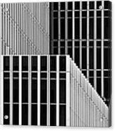 Stripes And Windows Acrylic Print