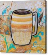 Stripped Mug Acrylic Print