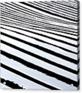 Stripy Land Acrylic Print