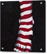 Stripy Steps Acrylic Print