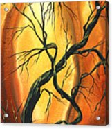 Striving To Be The Best By Madart Acrylic Print by Megan Duncanson