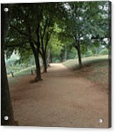 Stroll On Mulberry Row Monticello Acrylic Print