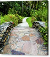 Strolling Through Paradise Acrylic Print