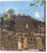Structure Two In Calakmul Acrylic Print