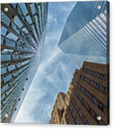 Structures Of Nyc 6  Acrylic Print
