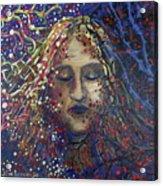 Struggle Of Blue Acrylic Print