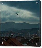 Strumica Blue Acrylic Print