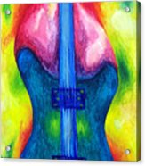 Strung Out Acrylic Print