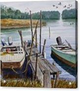 Stuart's Dock  Acrylic Print