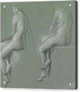 Studies Of The Nude Acrylic Print