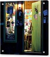 Studio Door Acrylic Print