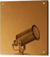 Studio Lamp Acrylic Print