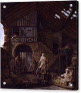 Studio Of An Antiquities Acrylic Print