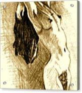 Studio Sketch Acrylic Print