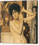 Study For Allegory Of Sculpture Acrylic Print