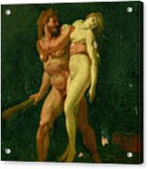 Study For Hercules And Alcestis Acrylic Print