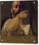 Study For The Centurion Of The Martyrdom Of Saint Symphorien 1834 Acrylic Print