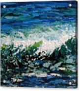 Study Of A Wave Acrylic Print