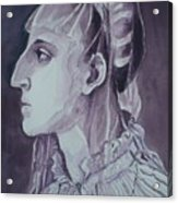 Study Of Laura Battiferri After Agnolo Bronzino C.1555 Acrylic Print