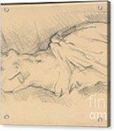 "Study Of ""venus De Milo"" Acrylic Print"