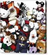Stuffed Animals Acrylic Print
