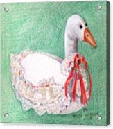 Stuffed Goose Acrylic Print