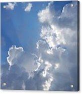 Stunning Clouds  Acrylic Print