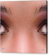 Stunning Eyes Acrylic Print